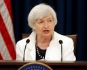 Janet Yellen, hier in 2017 als baas van de Amerikaanse nationale bank de Federal Reserve, geldt als belangrijkste kandidaat voor minister van Financiën.