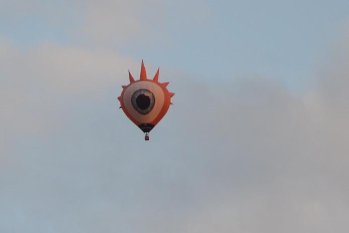 Een van de ballonnen van Het Ballonfestival in Grave.