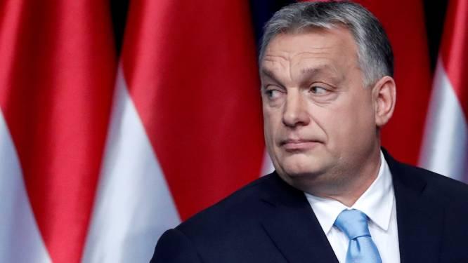 Europese Volkspartij schorst partij van Hongaarse premier Orban
