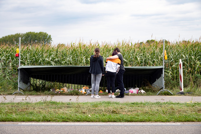 De herdenkingsplek voor Lieke Steeg.