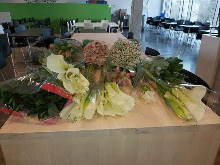 Schenking Bloemen Marleentje aan UZ Gent