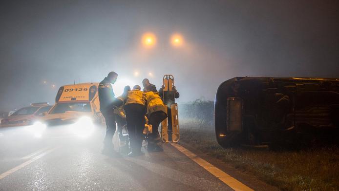 Ernstig ongeval door mist op Zuilense Ring | Utrecht | AD.nl