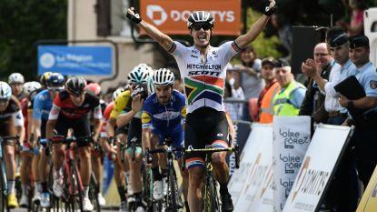 Impey kletst iedereen uit het wiel in de Dauphiné na heuvelachtige etappe