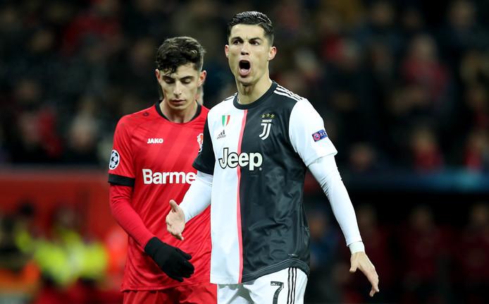 Cristiano Ronaldo won met Juventus ook de laatste groepswedstrijd van Bayer Leverkusen.