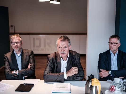 Peter van de Wardt (midden).