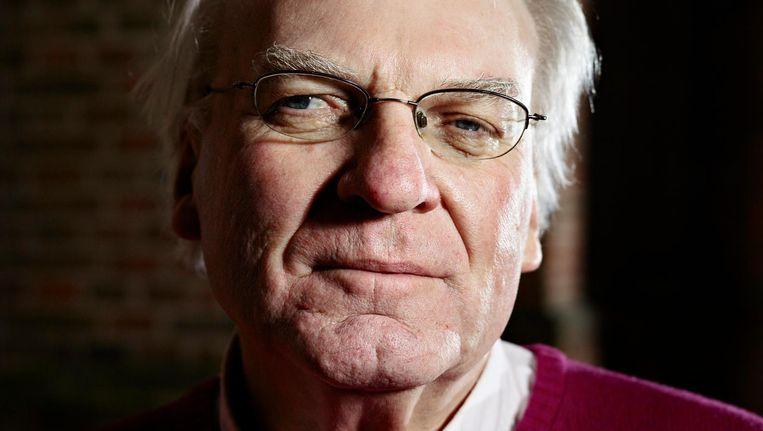 Herman Pleij: 'Als geluk een gewoonte is, dan is het geen geluk meer.' Beeld merlijn doomernik/hh