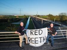 Reeth in het verweer tegen de railterminal