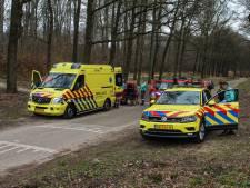 Mountainbiker gewond bij val in het bos in Rozendaal