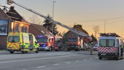 Bejaarde dame gered uit woningbrand door passanten