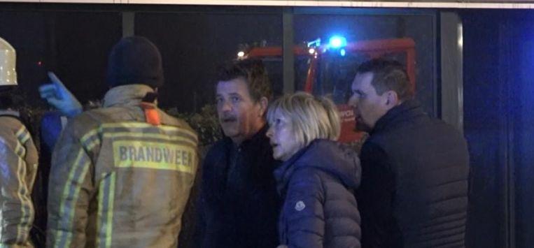 Zaakvoerster Grete Remen kwam 's nachts zelf de schade inspecteren