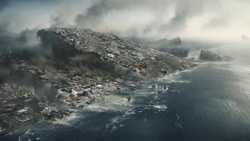 """Image tirée du film """"2012"""" de Columbia Pictures."""