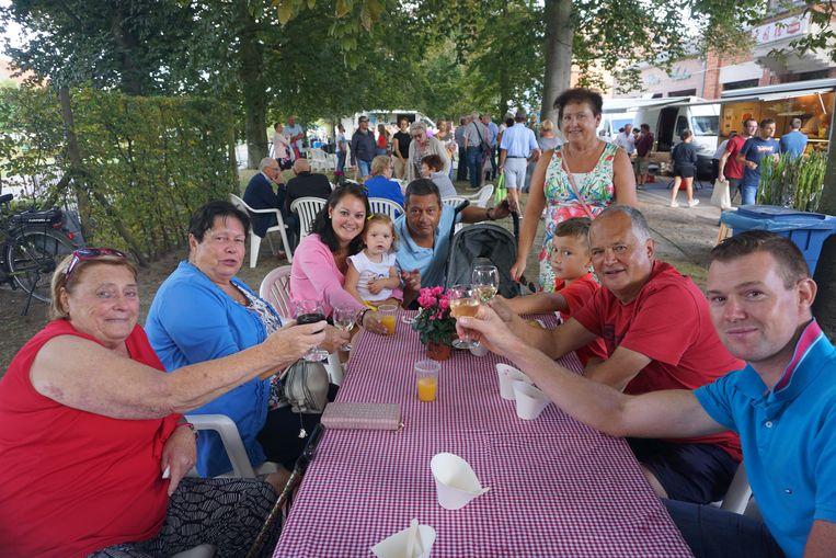 De derde editie van het boerenmarktfeest was een succes.