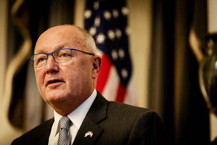 Pete Hoekstra, de Amerikaanse ambassadeur in Nederland