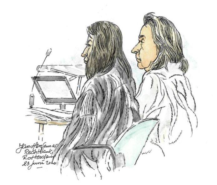 Jenny C. gaf tijdens de zitting toe dat ze het geld van de school voor zichzelf had gebruikt.
