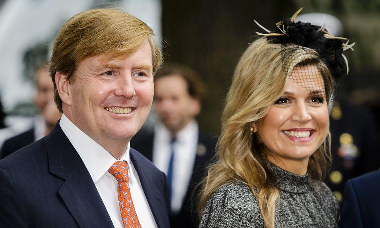 Koning Willem-Alexander en koningin Maxima. Beeld anp