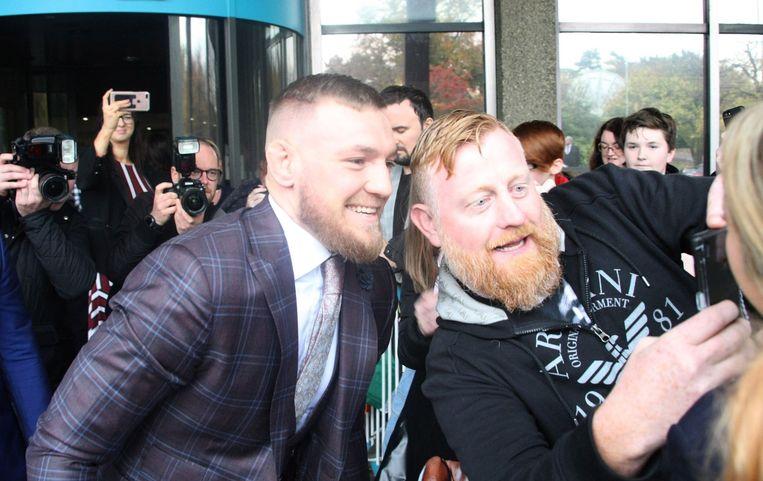 Conor McGregor: mateloos populair in Ierland.
