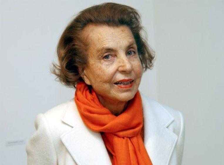 Liliane Bettencourt (archieffoto 2004). ANP Beeld