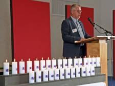 Dertig flakkerende kaarsen voor dertig West-Zeeuws-Vlaamse slachtoffers uit Nederlands-Indië