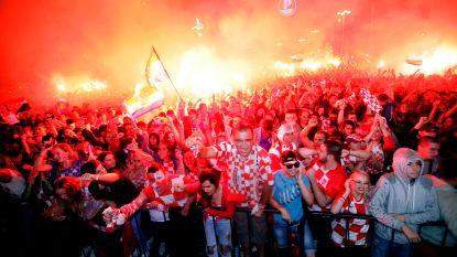 Klein maar dapper: Kroatië tweede kleinste finalist ooit in WK