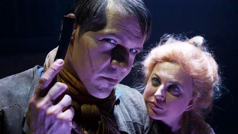 De cast blinkt uit in musical Sweeney Todd. Beeld Bob Bronshoff
