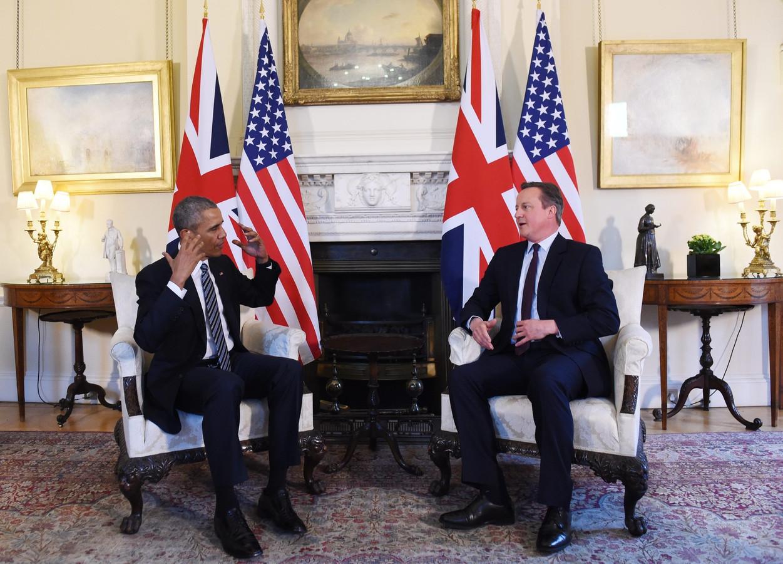 Obama en Cameron zitten op een lijn: geen Brexit.