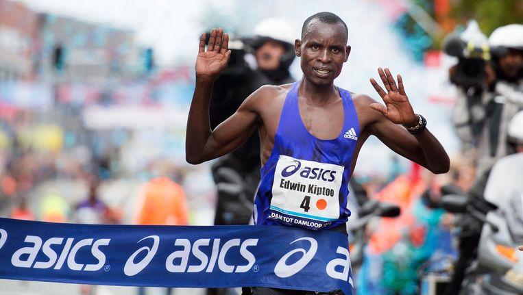 De Keniaanse atleet Edwin Kiptoo. Beeld ANP