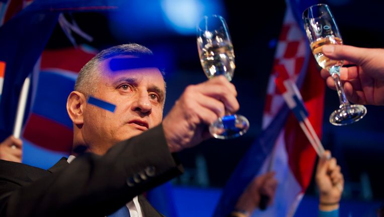 Oppositieleider Tomislav Karamarko. Beeld AP