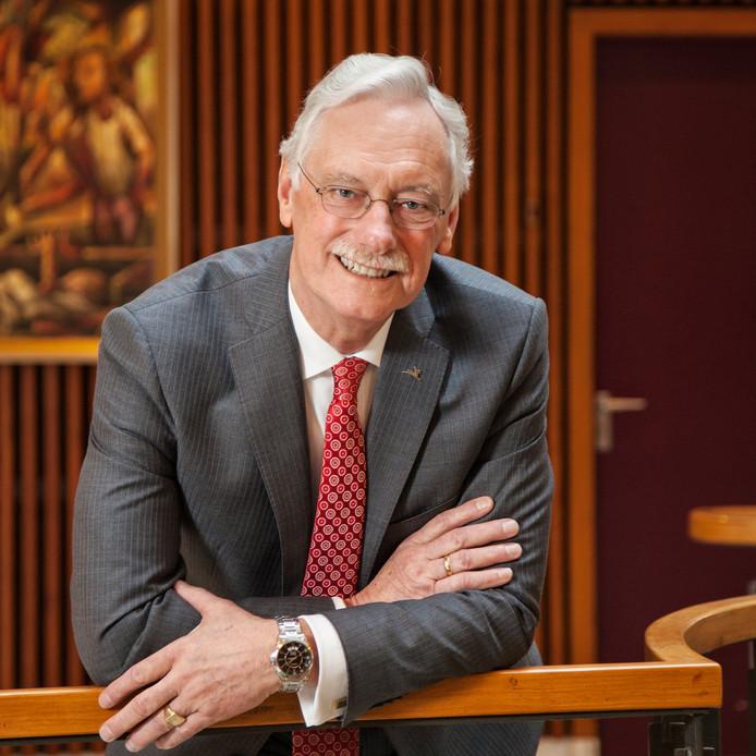Hans van der Hoeve is tot oktober burgemeester van Epe.