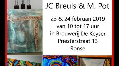 'Tijd voor kunst' in CC De Brouwerij