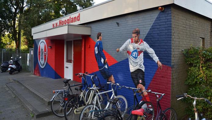 Clubgebouw v v hoogland verbouwd amersfoort - Nieuw muurschildering ...