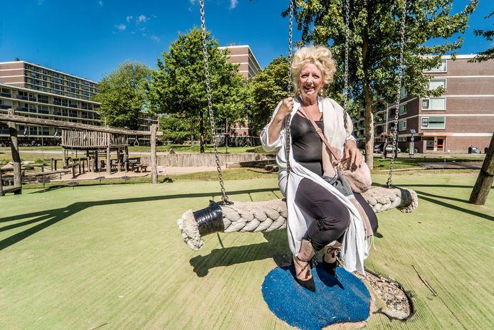 Jolanda Gaal bij het Poptapark