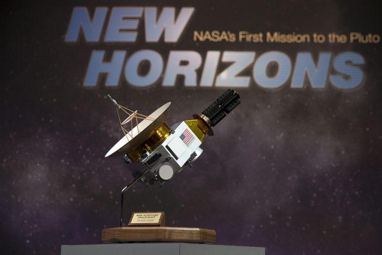 Het ruimtevaartuig waarmee de NASA de missie uitvoert. Beeld anp