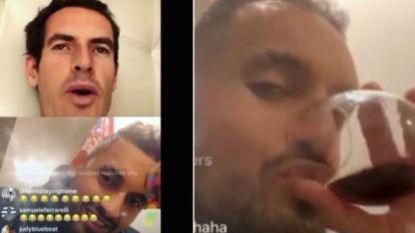 Dronken Kyrgios gaat volledig los in dolle Instagram-live