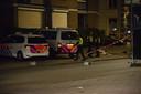 Hulpdiensten zijn druk na een steekpartij in de Adriaan van Bergenstraat.