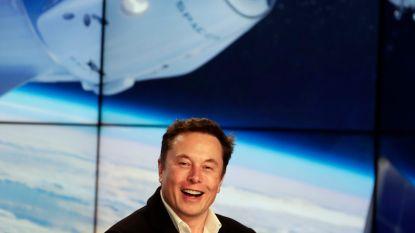 Eindelijk nog eens succes voor Elon Musk