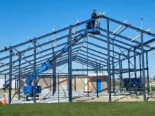 Nieuw clubhuis MOSA'14 krijgt vorm: 'Goei werk heeft tijd nodig'