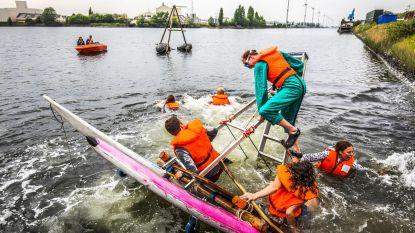 Problemen met de waterkwaliteit in het Boudewijnkanaal