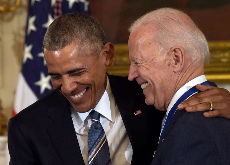 Barack Obama en Joe Biden.