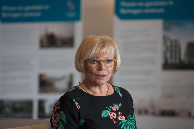 Schepen van Stadsontwikkeling Anne Wouters-Cuypers.