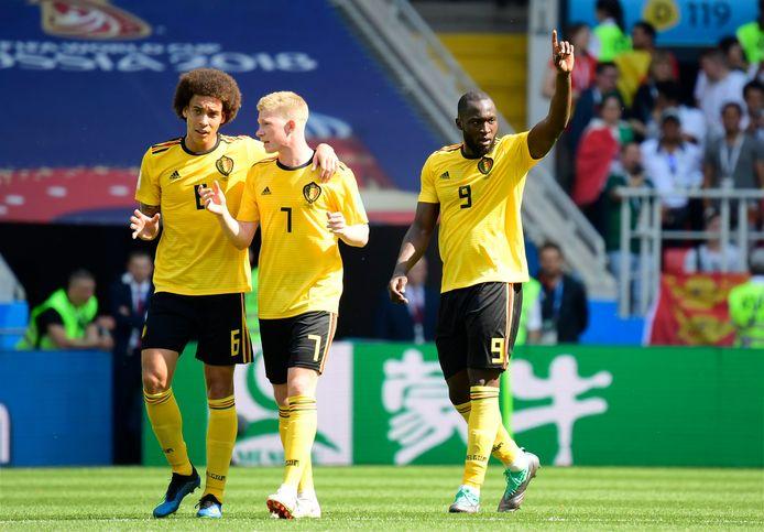 Avec deux doublés, Romelu Lukaku avait démarré son Mondial en force.