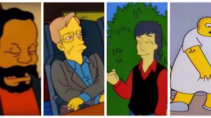 The Simpsons worden 30 - deel 3: de beste cameo's van beroemdheden