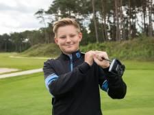 Elburgs golftalent (12) maakt stormachtige ontwikkeling door: 'plezier is het belangrijkste'