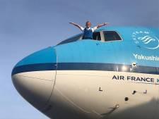 Stewardess Anita van den Bogert vliegt verre afstanden én loopt verre afstanden hard