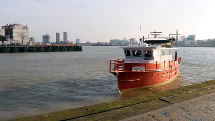 Het 'drugsschip' komt binnenkort naar Zwolle.