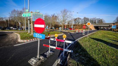 E40-oprit naar Oostende in Loppem gaat weer open