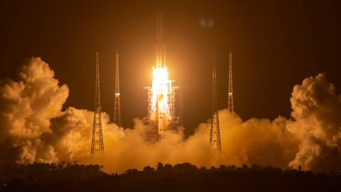 Chinese sonde in baan rond de maan gekomen