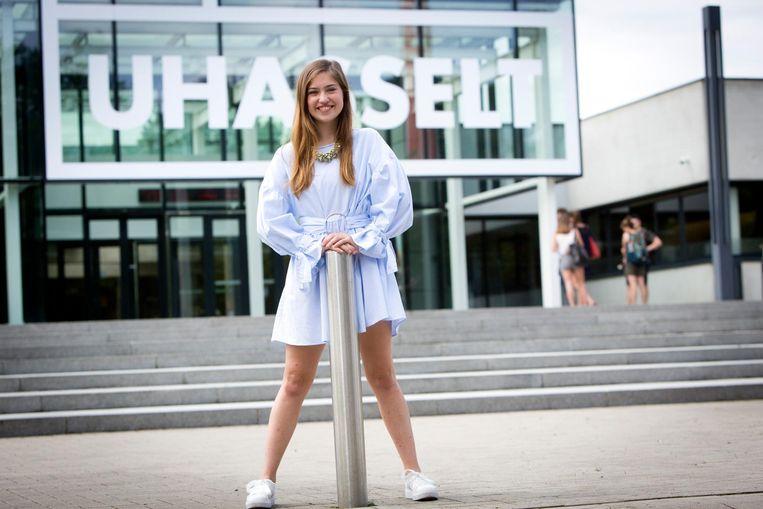 Anaïs Claes zal zo maar even 1.500 studenten vertegenwoordigen.