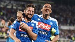 Het blijft branden bij Napoli: Dries Mertens en Allan ontzien mekaar niet in groepsgesprek