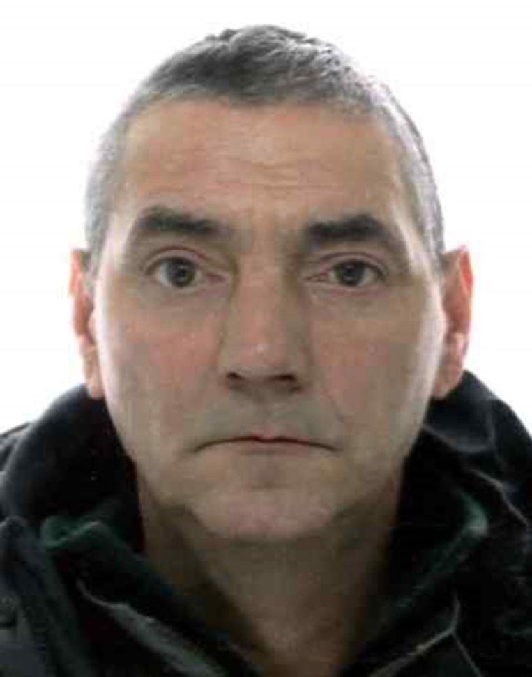 André Gille uit Middelkerke, sinds dinsdag vermist.