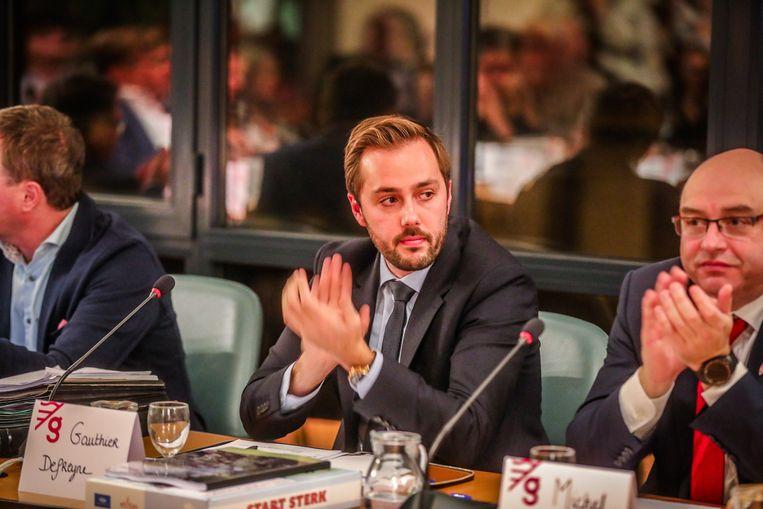 Burgemeester Gauthier Defreyne (Open Vld)